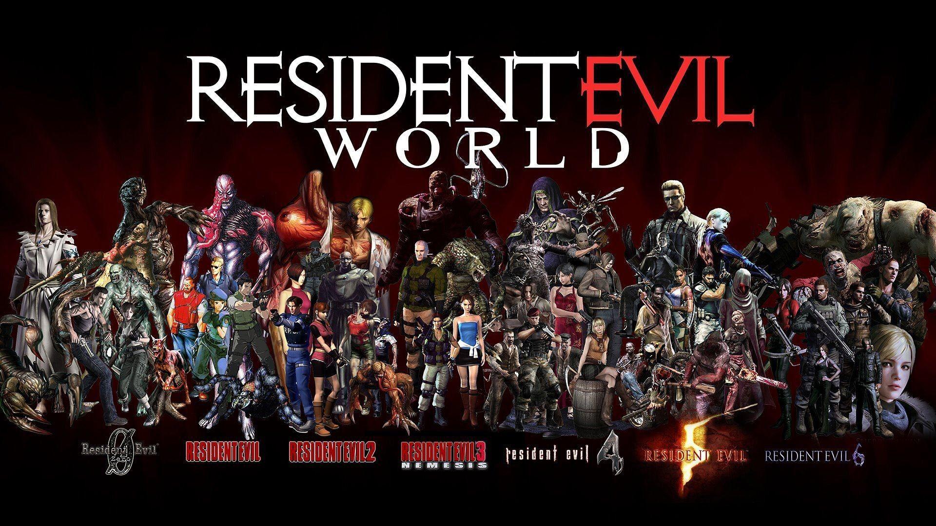 Resident Evil World Residents Evil Resident Evil Y