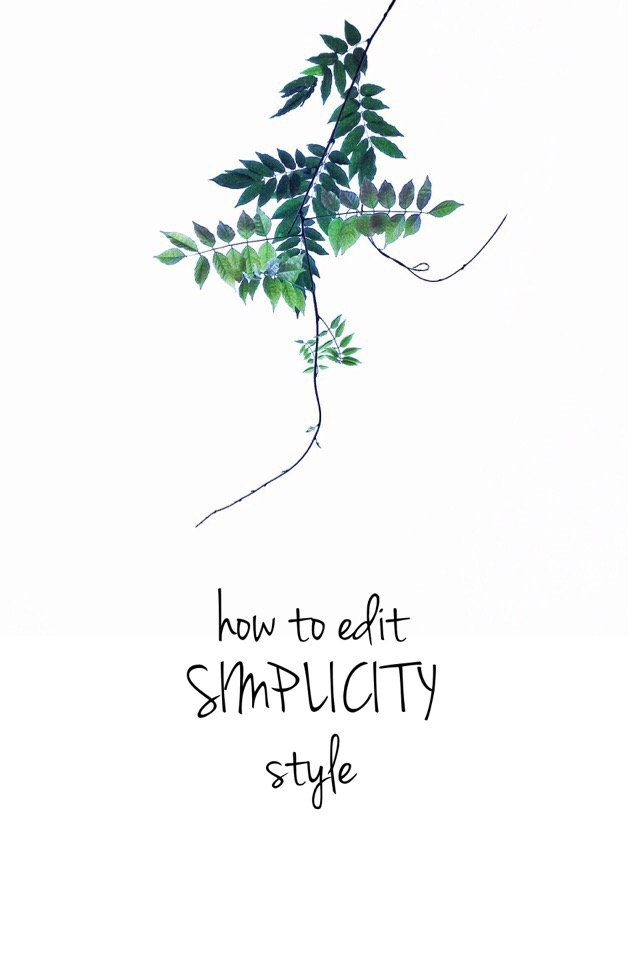 how to edit SIMPLICITY style