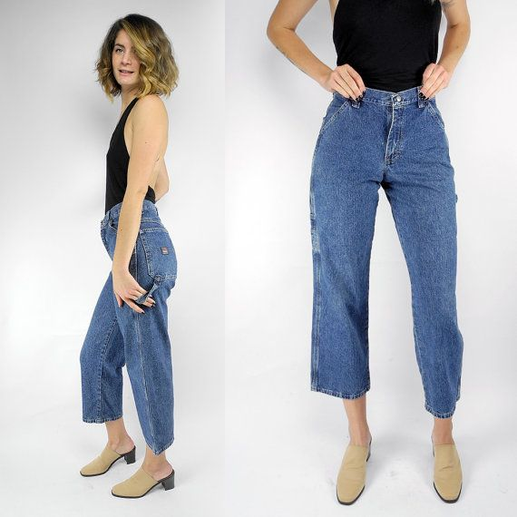 Wrangler Carpenter Pants 90s Workwear Vintage Carpenter Jeans