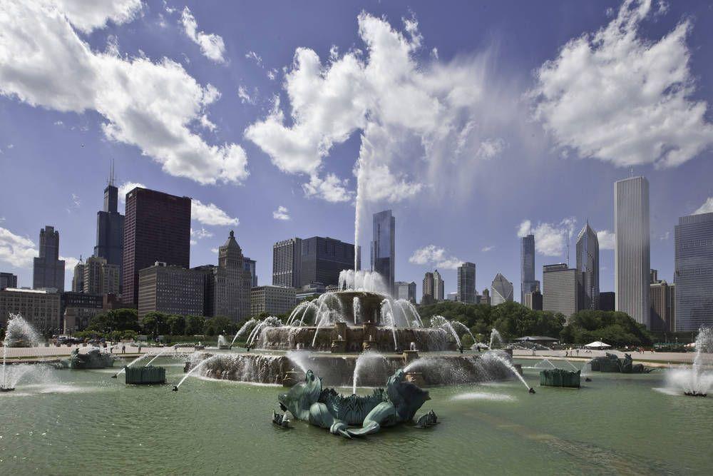 Fairfield inn buckingham fountain chicago architecture