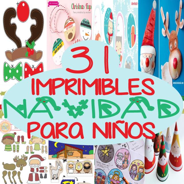 31 Imprimibles De Navidad Parte 1 Angel Pinterest Christmas