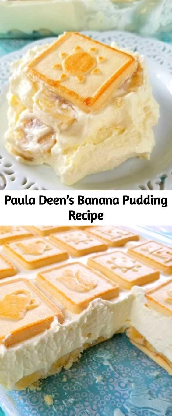 Paula Deen's Banana Pudding Recipe – Mom Secret Ingredients #bananapudding