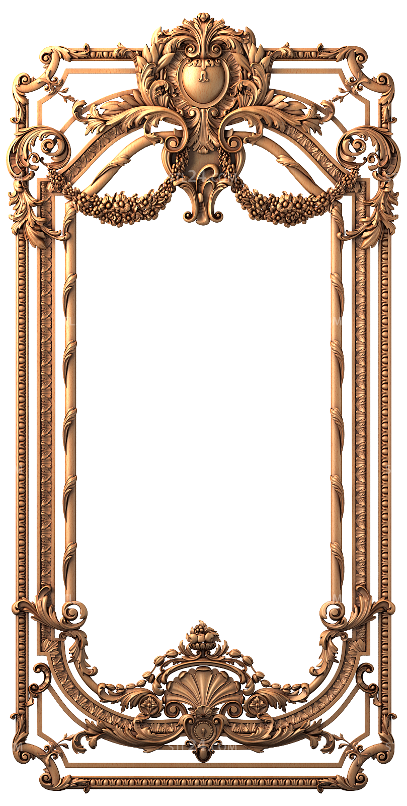 Pin By J D Nasit On Illustrations Figure Flower And Etc Baroque Ornament Ornament Frame Royal Frame