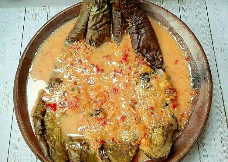 Resep Pecak Terong Kuah Santan Pr Olahanterong Oleh Susan Mellyani Resep Resep Masakan Resep Resep Masakan Indonesia