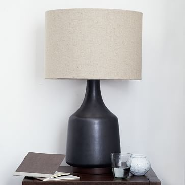 Morten table lamp black west elm bedroombedroom lampsbedside