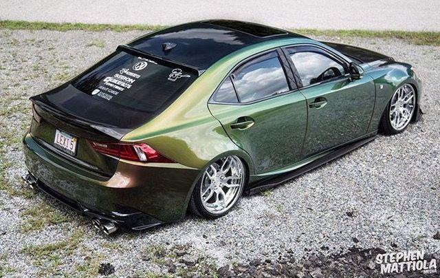 Lexus Is350 Sport Bagged Slammed Modified Agwheels Vip