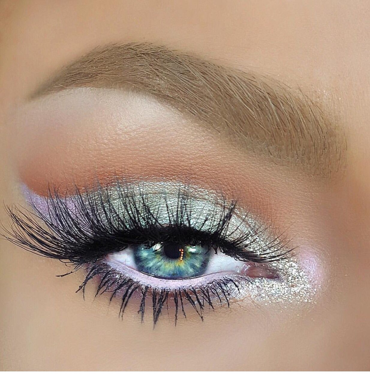 14 Pretty eye makeup in pastel ideas - eye makeup ideas , eye shadow #eyemakeup #makeup #eyeshadow