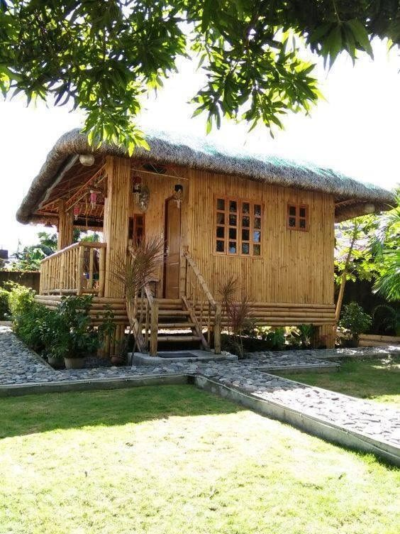 Bamboo building tiny house cabin hut bahay kubo design philippines also pin by lilybeth bangug dipasupil on home pinterest rh