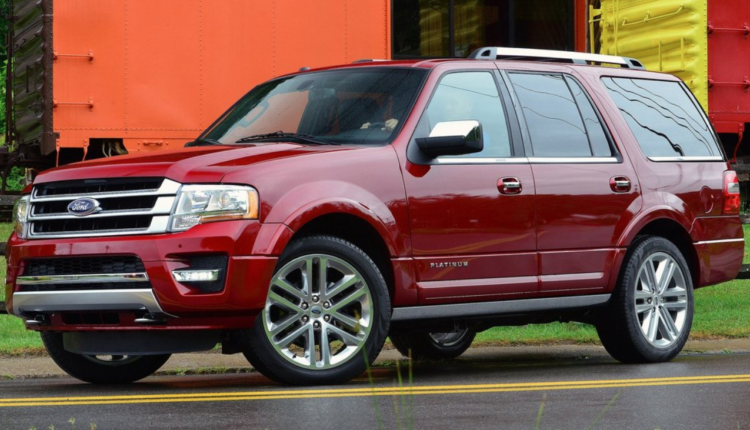 2017 Ford Expedition Colors