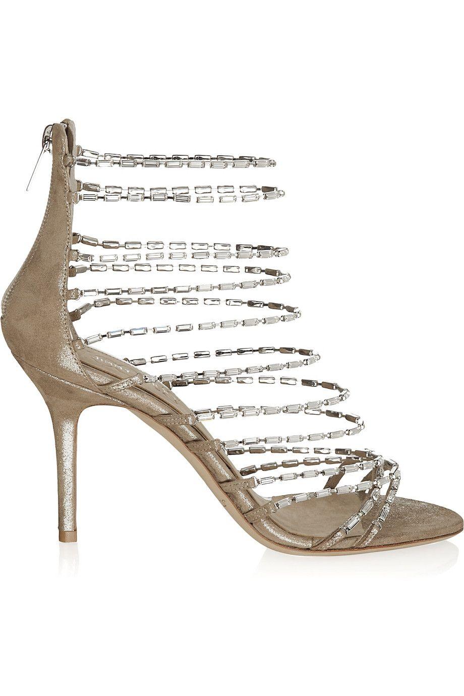 suede sandals   Jimmy Choo   Jimmy choo