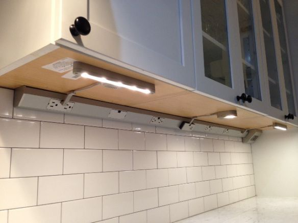 Plug In Under Cabinet Lighting. Easy Plugin Sleek Leds From Ikea ...