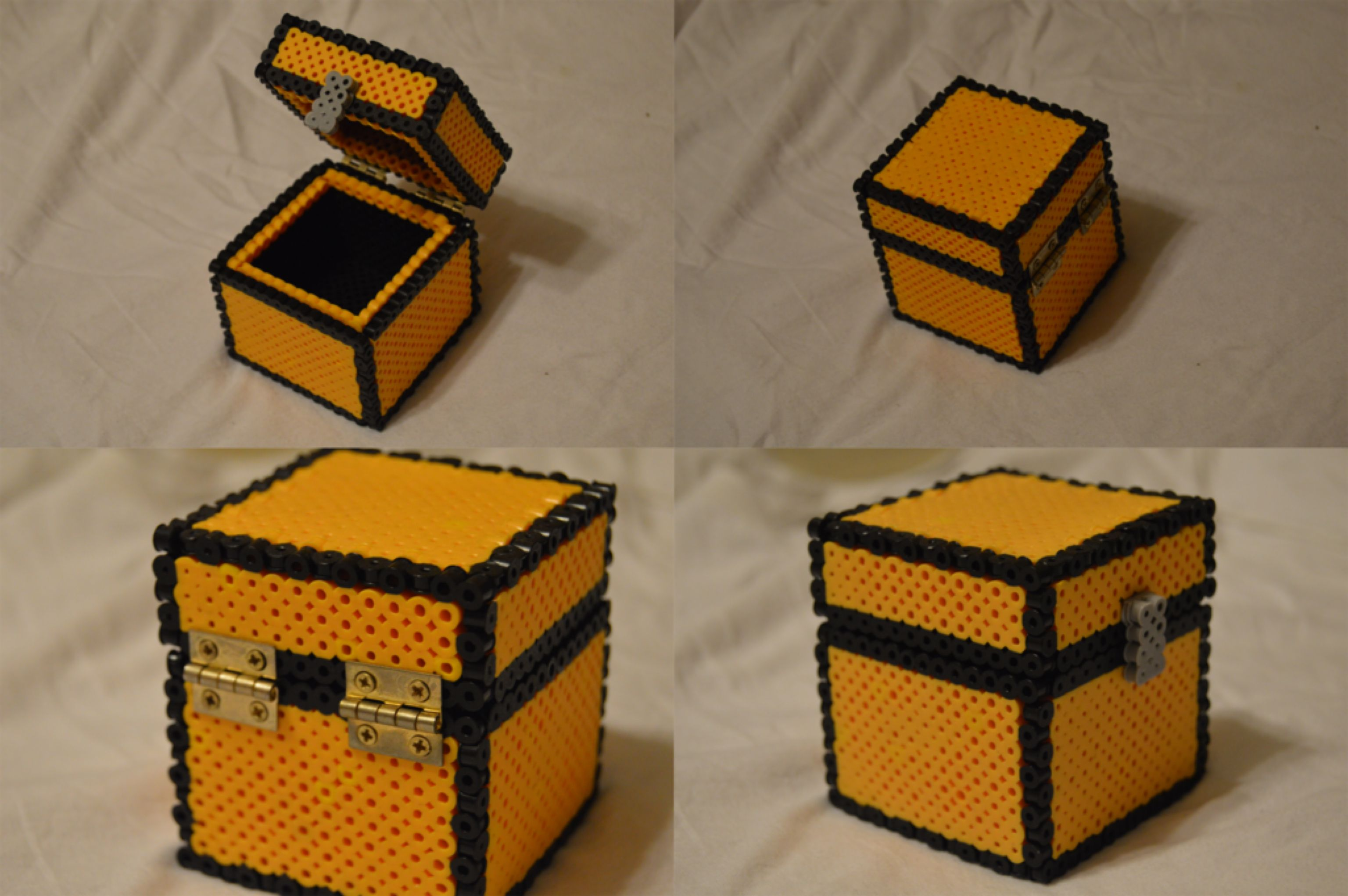 small resolution of perler chest the whole thing by ard95 on deviantart