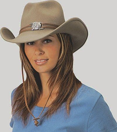 ladies cowboy hats