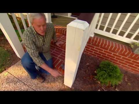 Best Easy Way To Attach A Wood Handrail To Concrete Youtube 640 x 480
