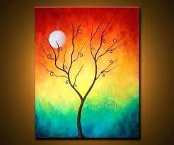 Image Result For Easy Canvas Paintings For Beginners Step By Step Colorful Abstract Art Simple Oil Painting Easy Canvas Painting