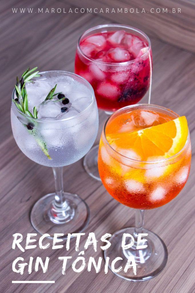 Receitas de Gin Tônica para fugir do óbvio e curtir o verão #drinks