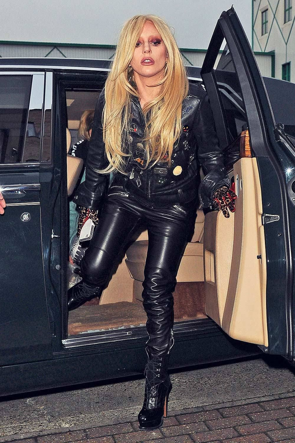 Phrase simply lady gaga in leather pants ass thanks