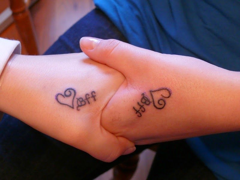 Meaningful Best Friend Tattoos Ideas in the Form of Puzzle | Ideas ...
