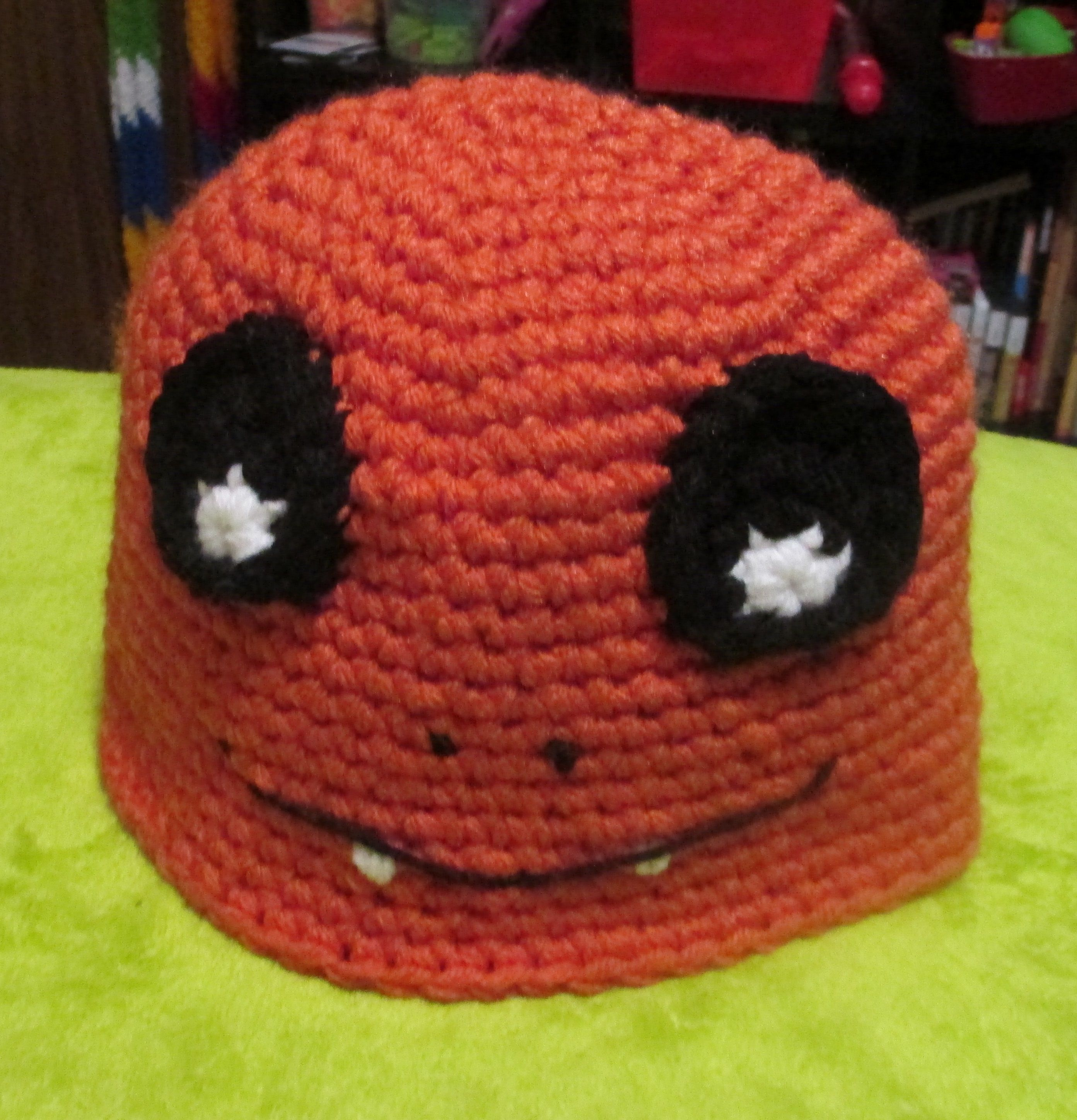 Charmander pokemon, crochet hat. | Crocheting | Pinterest | Gorro ...