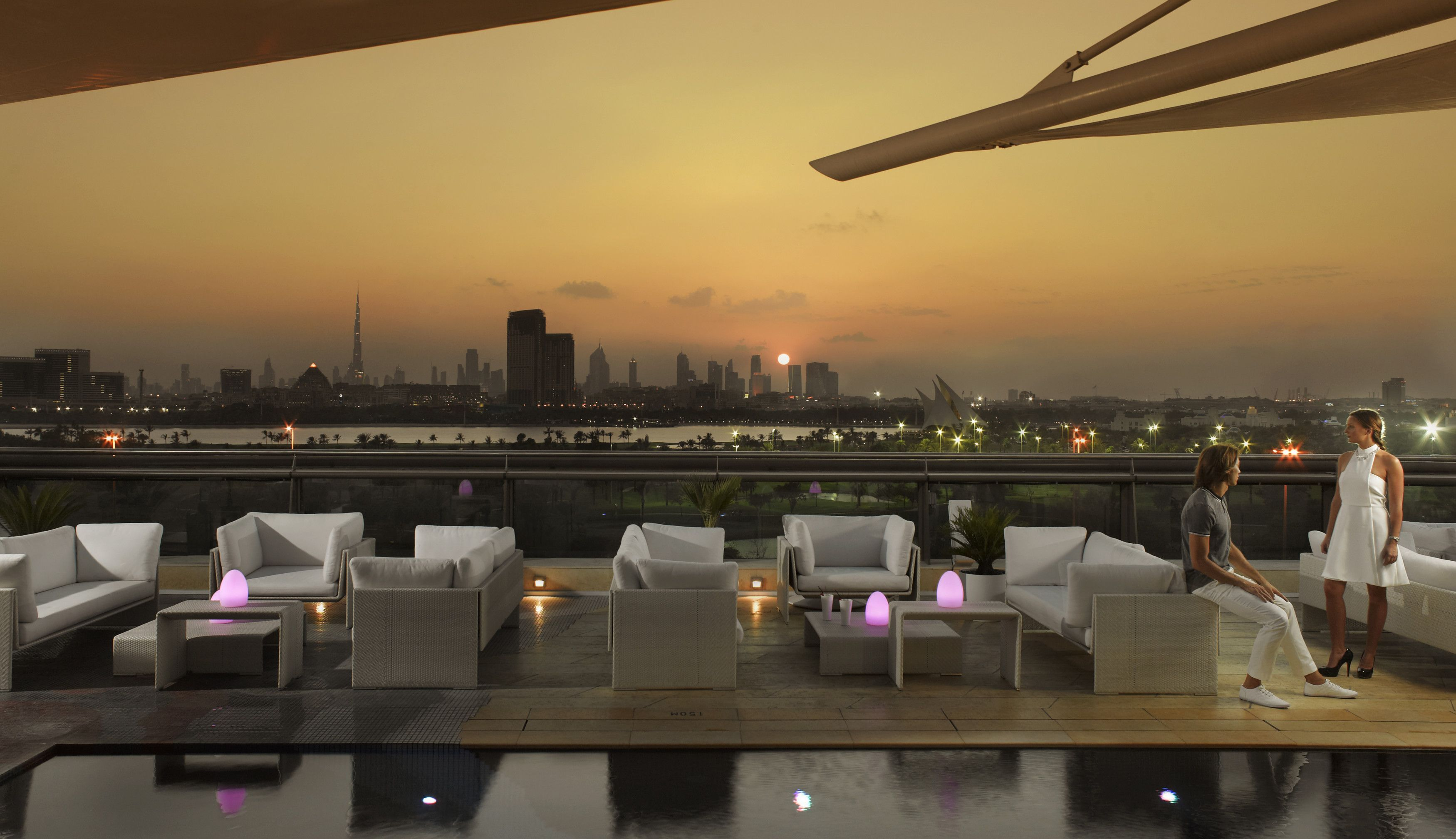 Jumeirah Creekside Hotel Dubai Restaurants Cuba Rooftop Bar