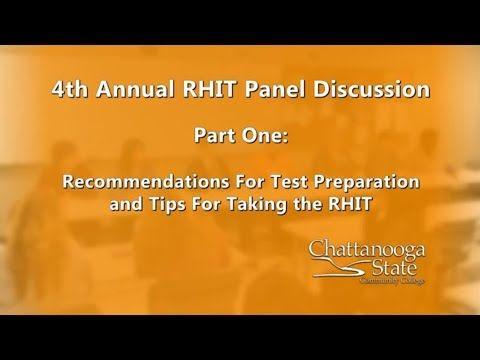 Health Information RHIT Cert. Exam Tips - YouTube   RHIT   Pinterest