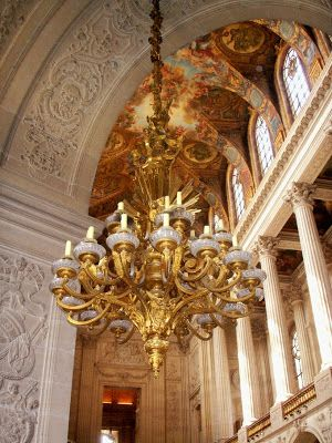 Chapelle royale at versailles baroque architect jules hardouin mansart interiors and - Cabinet mansart versailles ...