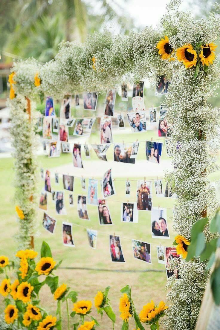 DIGITAL OR PRINTED Rustic sunflower Wedding decoration rustic   Etsy