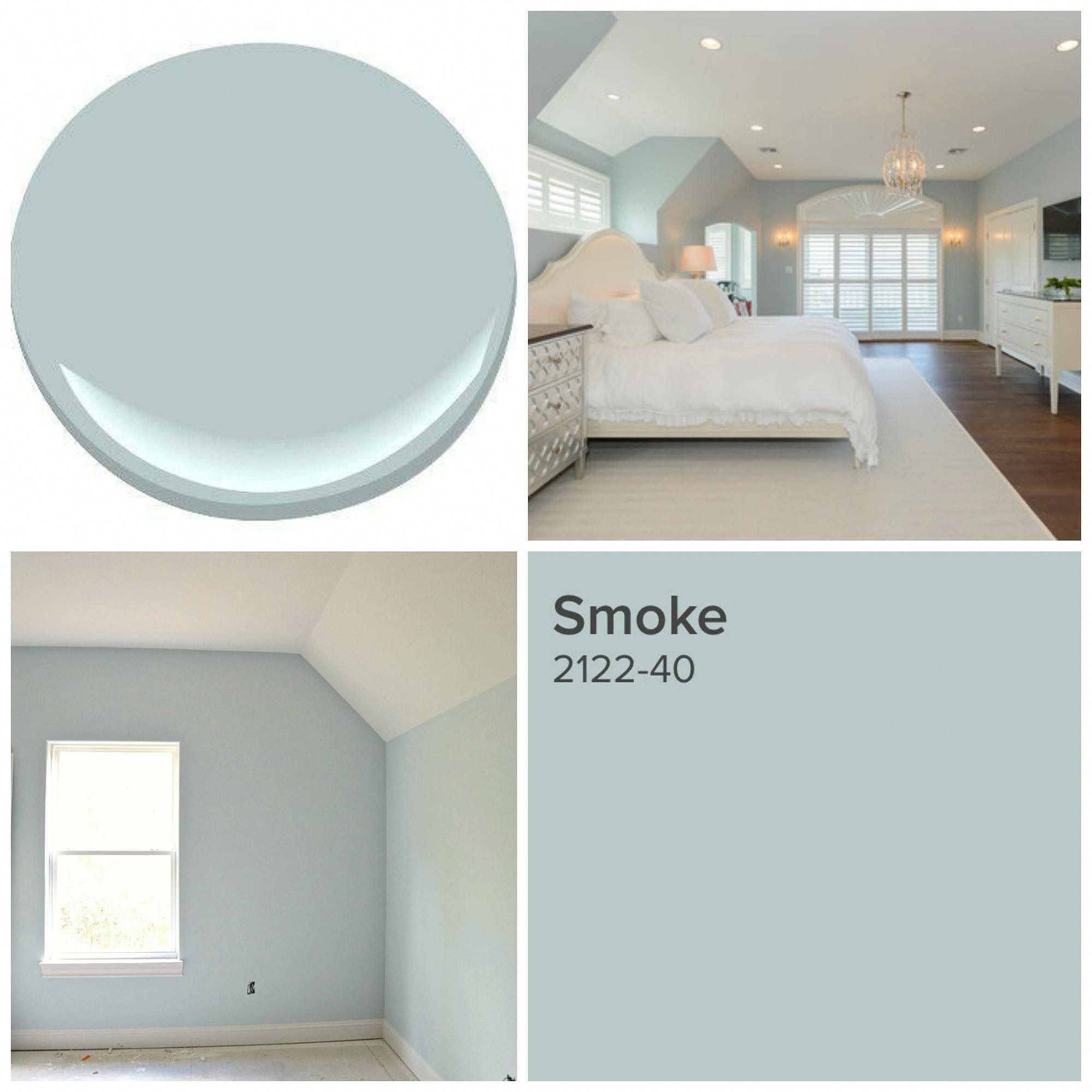 Benjamin Moore Smoke Crazybedroom Paint Colors For Home Home Home Decor
