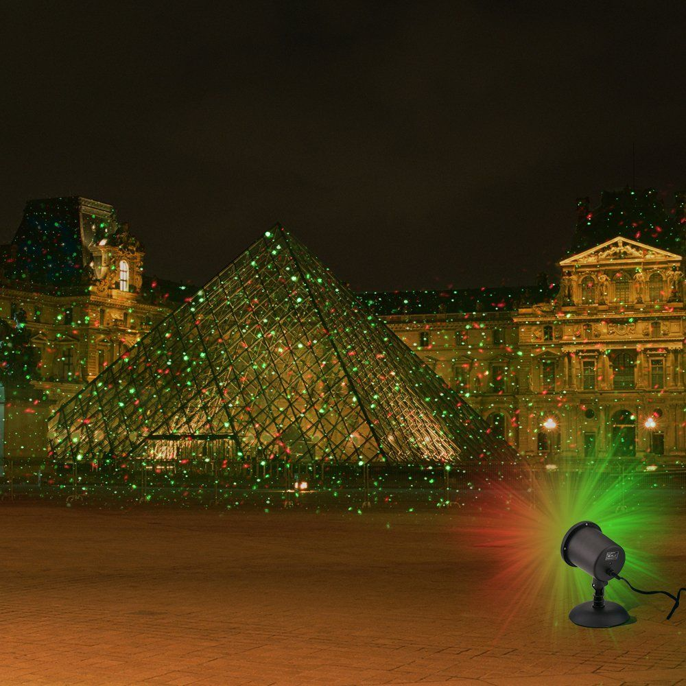Amazon Com Laser Light Waterproof Red Green Laser Light Landscape Spotlights For Christmas Decorat Landscape Spotlights Laser Christmas Lights Laser Lights