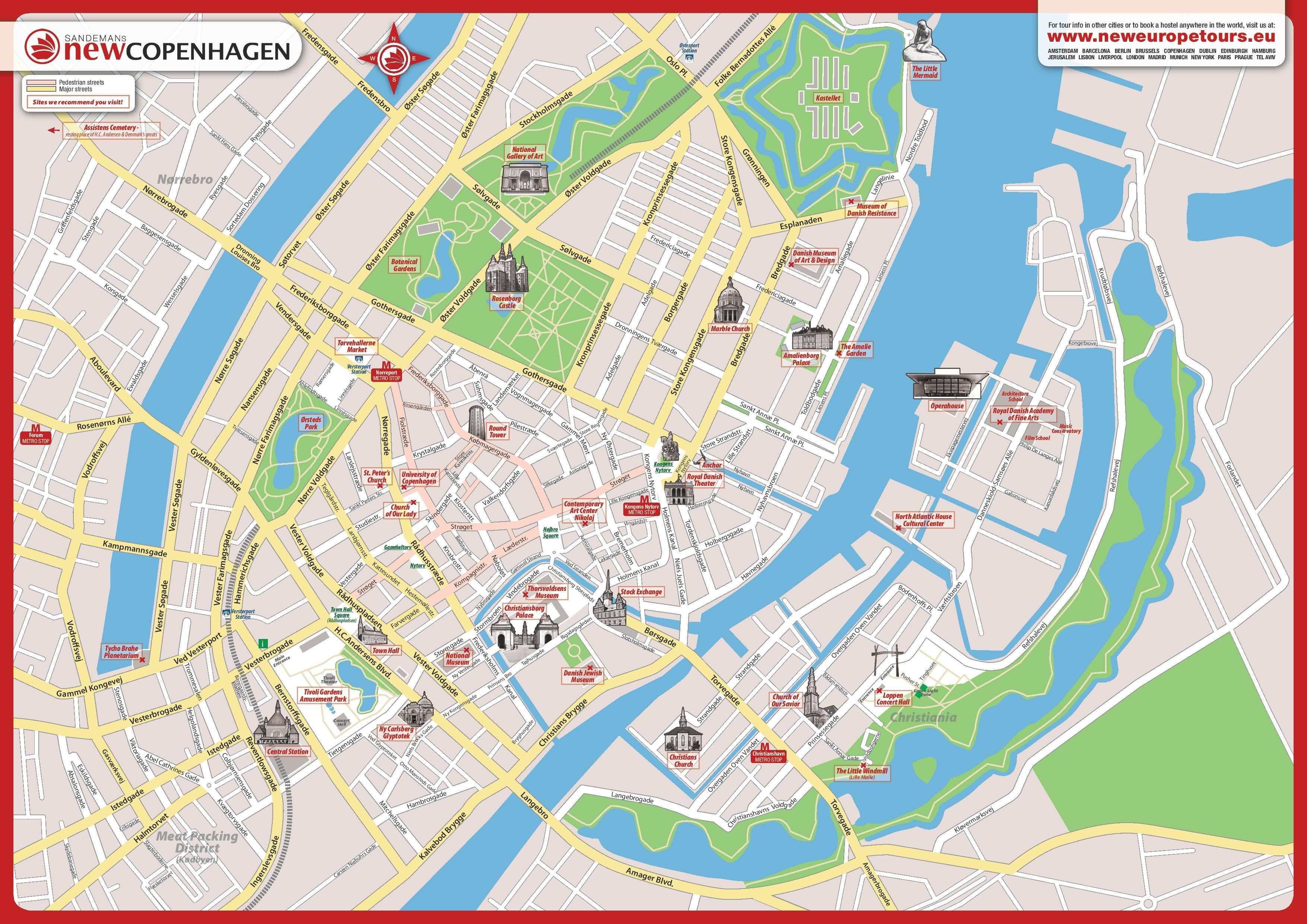 Copenhague carte