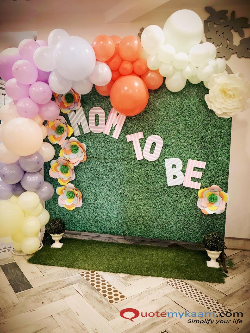 Best Balloon Decoration Balloon decorations, Baby shower