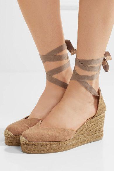 8878a5a2184 Castañer - Chiara canvas wedge espadrilles | Shoes | Espadrilles ...