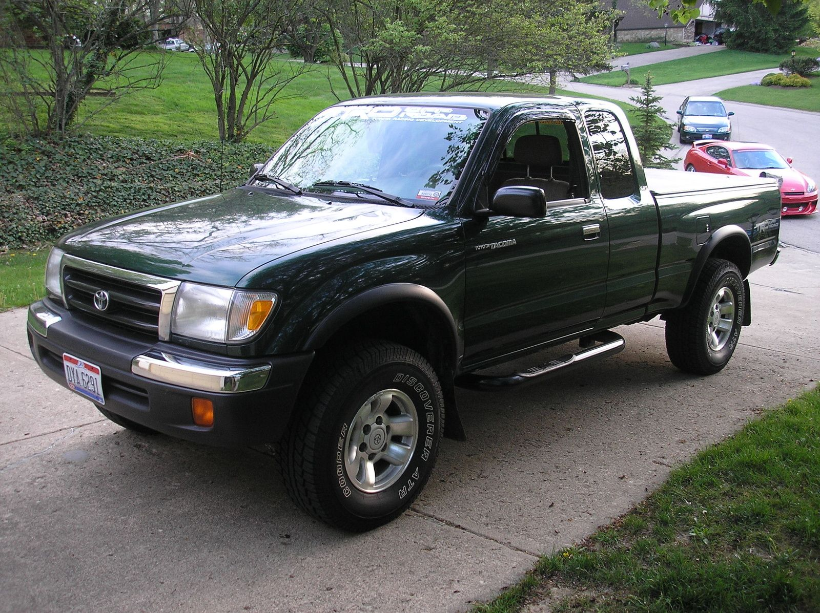 Pictures Of A 1999 Toyota Tacoma Picture Prerunner Exterior