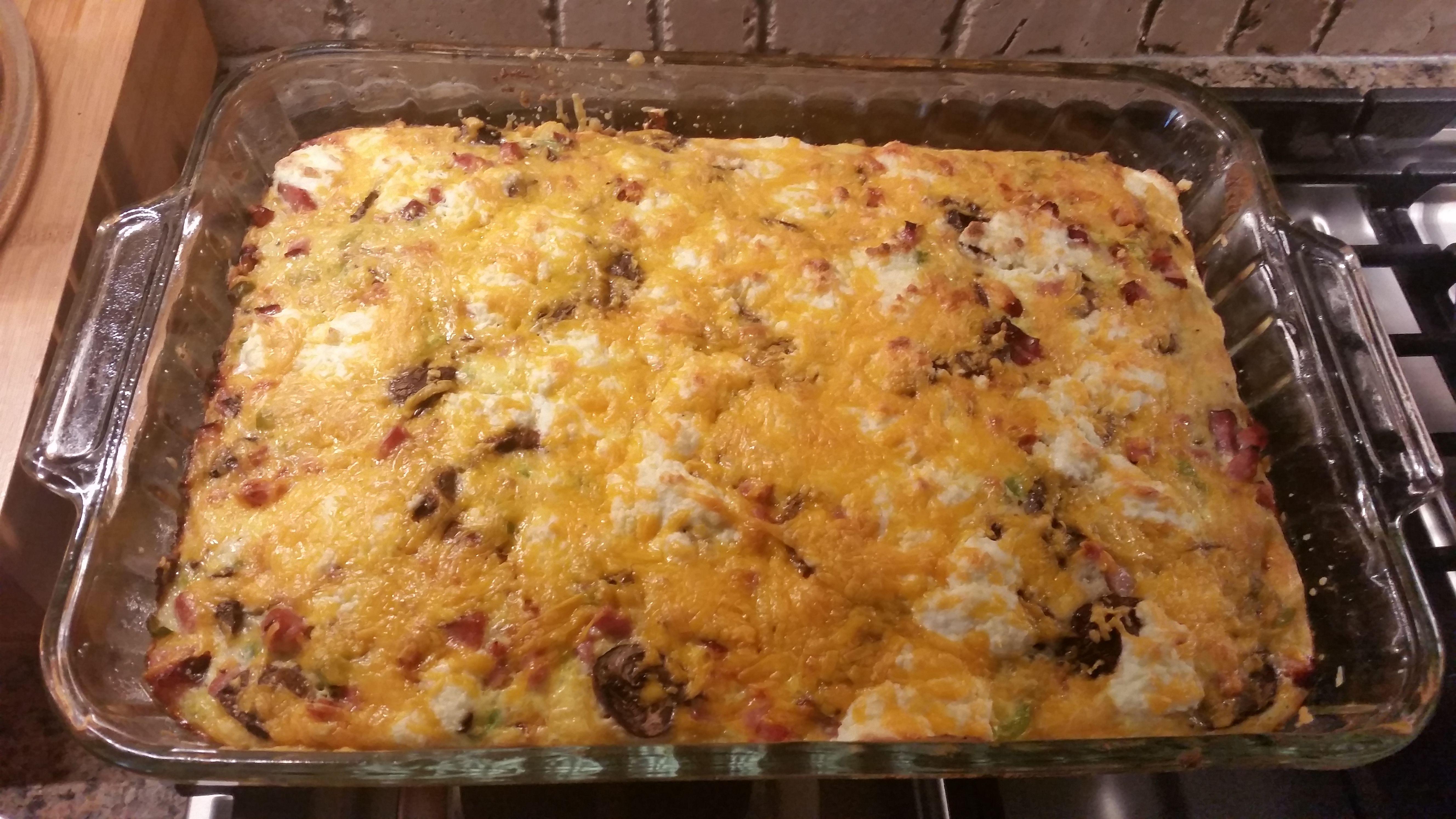 Aprenda a preparar a receita de Omeletão de forno