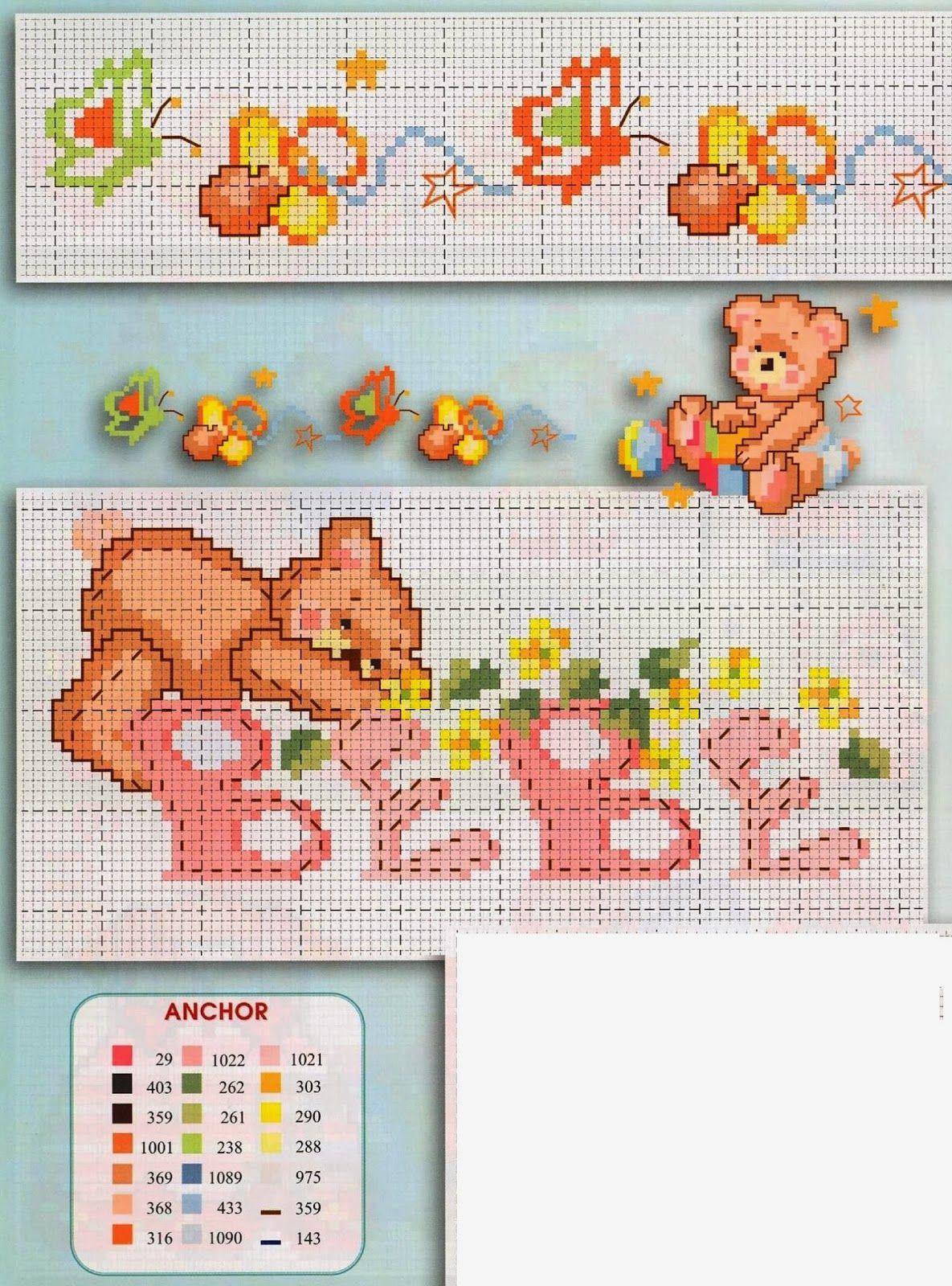 Punto croce schemi gratis e tutorial tanti schemi punto for Farfalle a punto croce per bambini