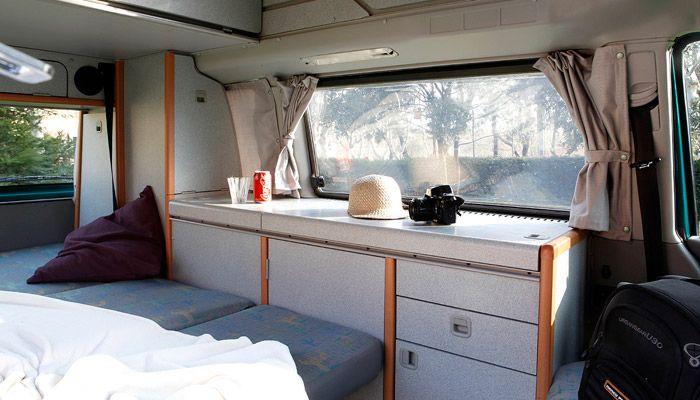 Volkswagen t4 california hardroof vw bus t4 1990 2003 for Mobili westfalia