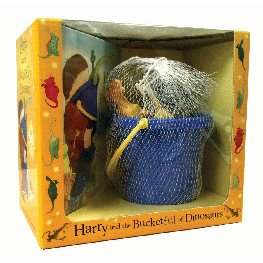 Harry and the Bucketful of Dinosaurs Set | ToysRUs Australia ...