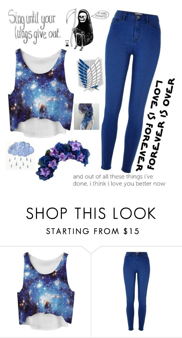 """""""QOTD: If you could change one thing about yourself, what would it be?"""" by watermelonandmusyc ❤ liked on Polyvore featuring River Island"""