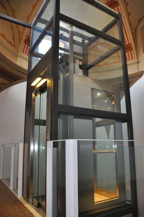 Escaleras con ascensor panoramico buscar con google - Ascensores para casas ...