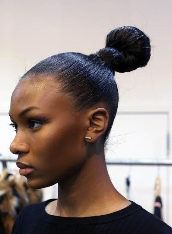 Cool Casual Top Knots Hairstyles 2015 Top Knot Hairstyles Fashion Week Hair Pretty Hairstyles