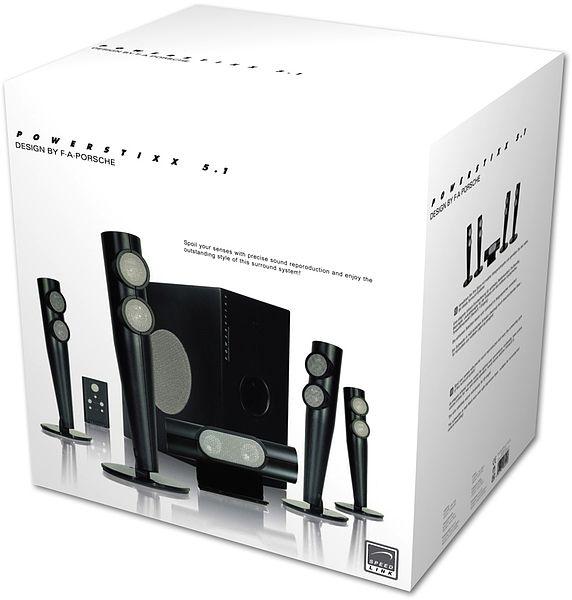 powerstixx 5.1 pc surround system - design by f.a. porsche ... - Porsche Design Küchengeräte