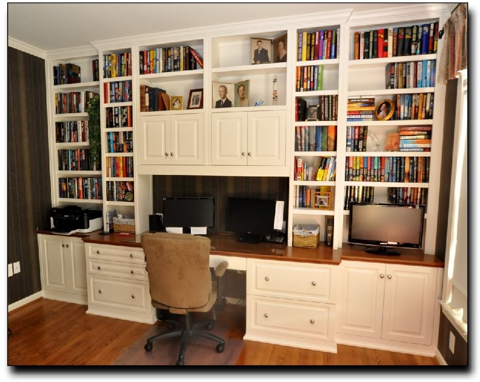 Best Custom Built Home Office Furniture Unique With Custom 400 x 300