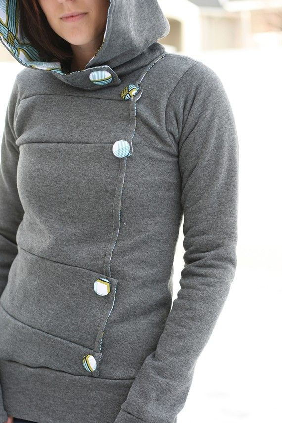 handmade hoodie - I want this!!!