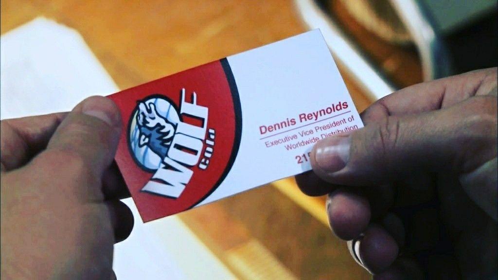 Dennis\' Wolf Cola Business Card | It\'s Always Sunny in Philadelphia ...