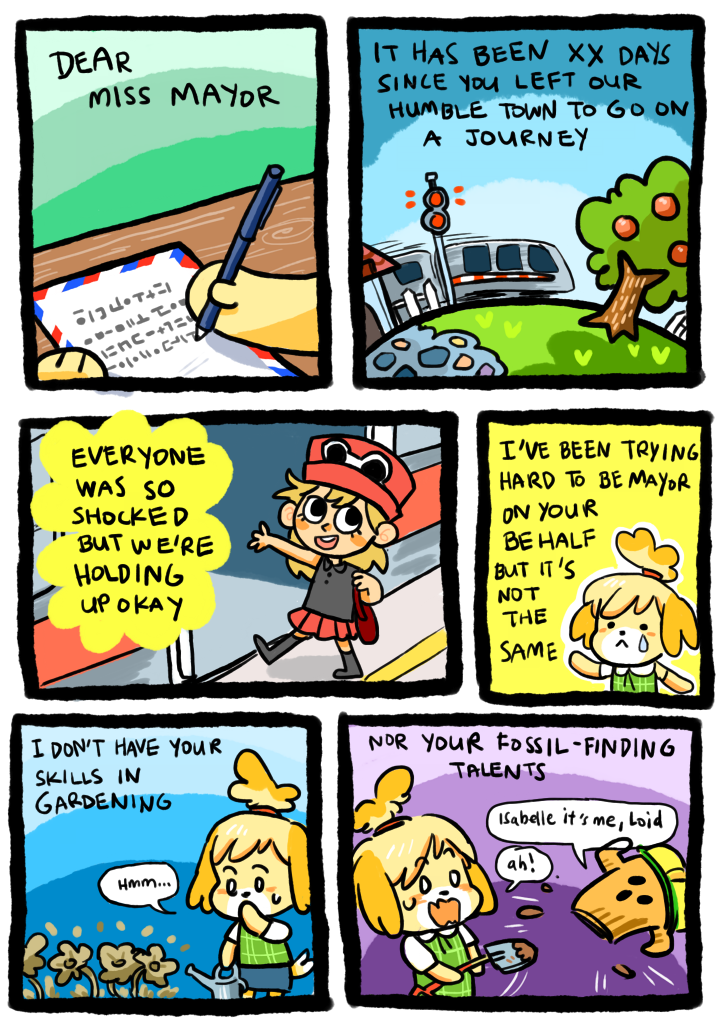 animal crossing new leaf love letters