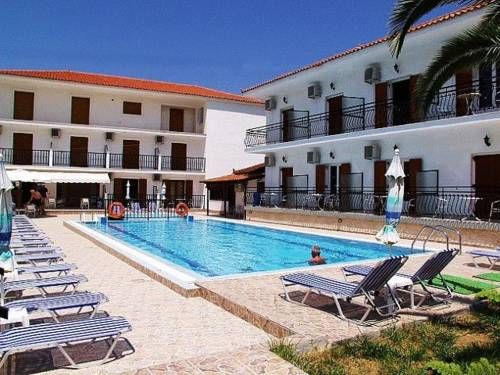 Litsa & Rosa Studios Alykanas Litsa & Rosa Studios are located in the quiet, scenic area of Alykanas on the northeast coast of Zakynthos. 15 spacious, fully furnished and equipped apartments are available together with a swimming pool and a snack bar.