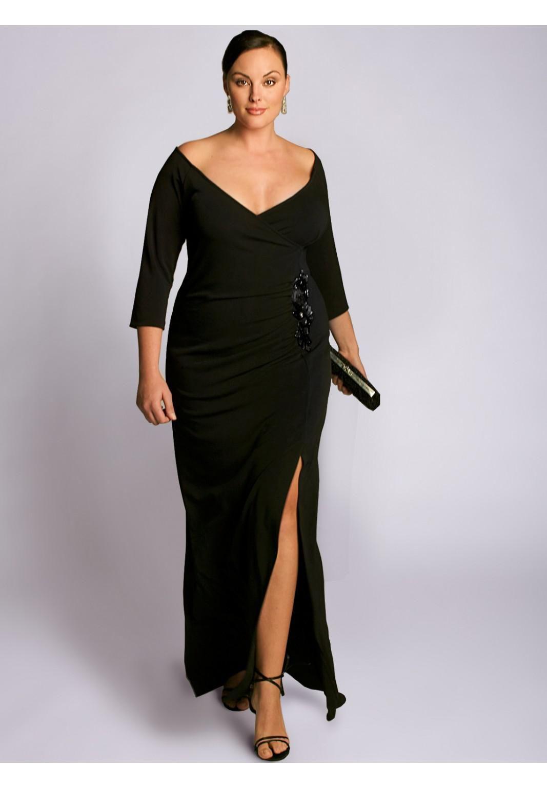 wholesale plus dress - buy wonderful graceful ruffle beaded side