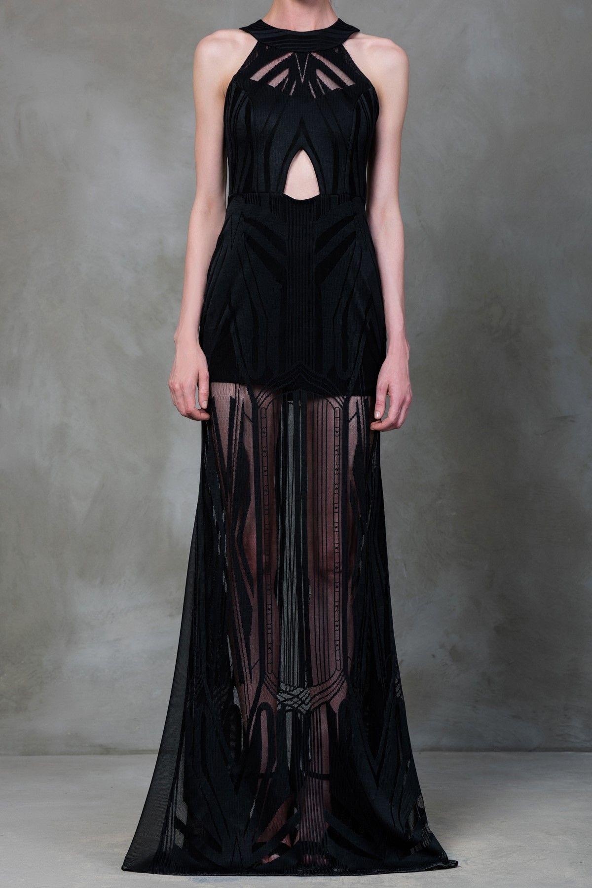 Mara Siyah Elbise Mlwss16de3041 Raisa Vanessa For Trendyol Trendyol Moda Stilleri Elbise The Dress