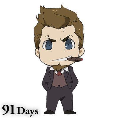 91 Days - Nero