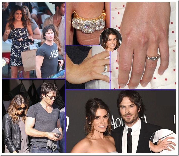 Beautiful Nikki Reed And Lan Somerhalder Both Are Shopping